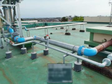 給水設備機器の設置工事