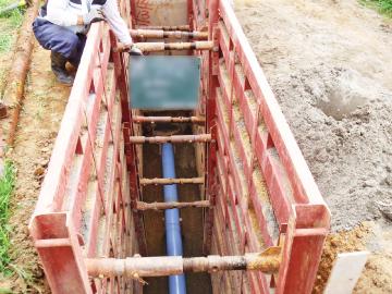 排水設備機器の設置工事